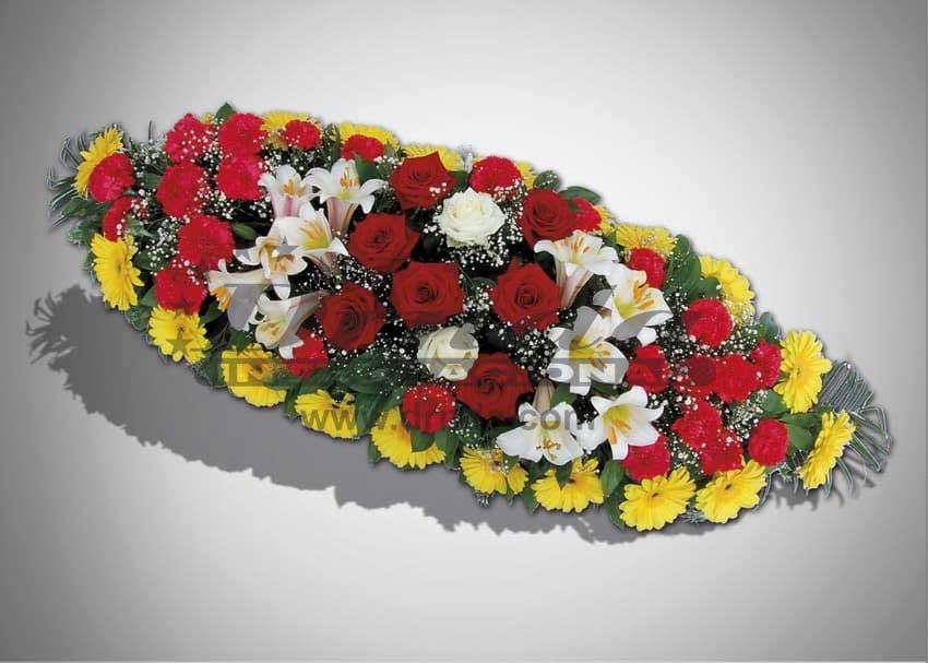 Pogrebna oprema Drnda - ikebana br. 8