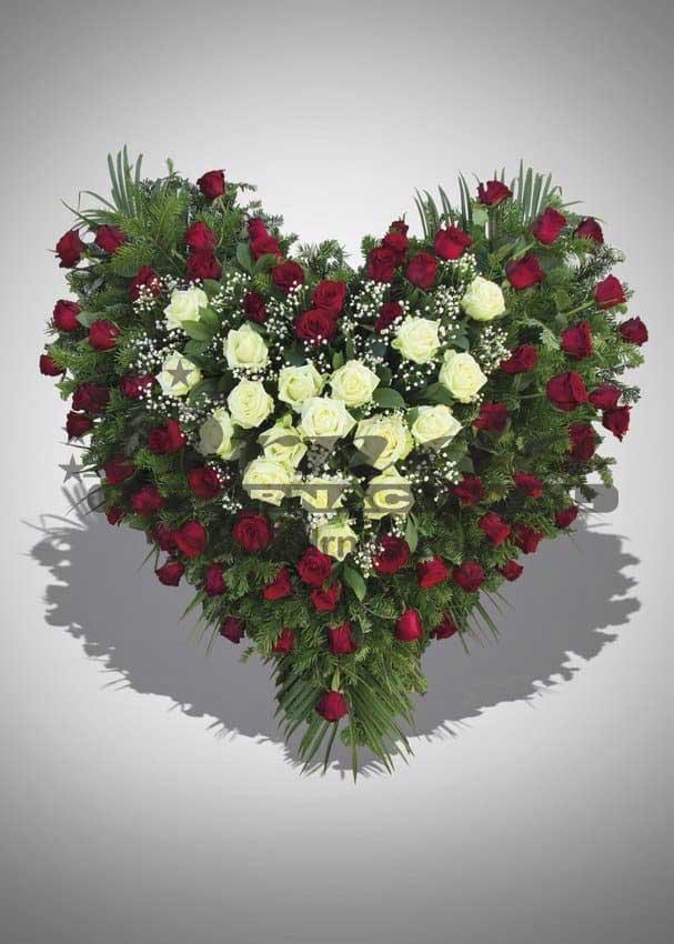 Pogrebna oprema Drnda - srce br. 1