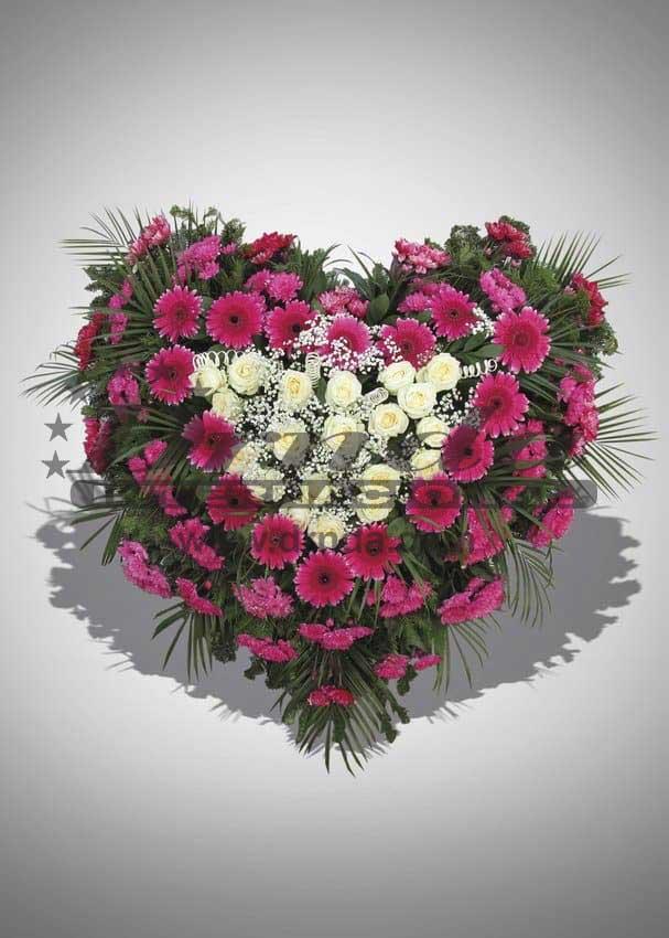 Pogrebna oprema Drnda - srce br. 3