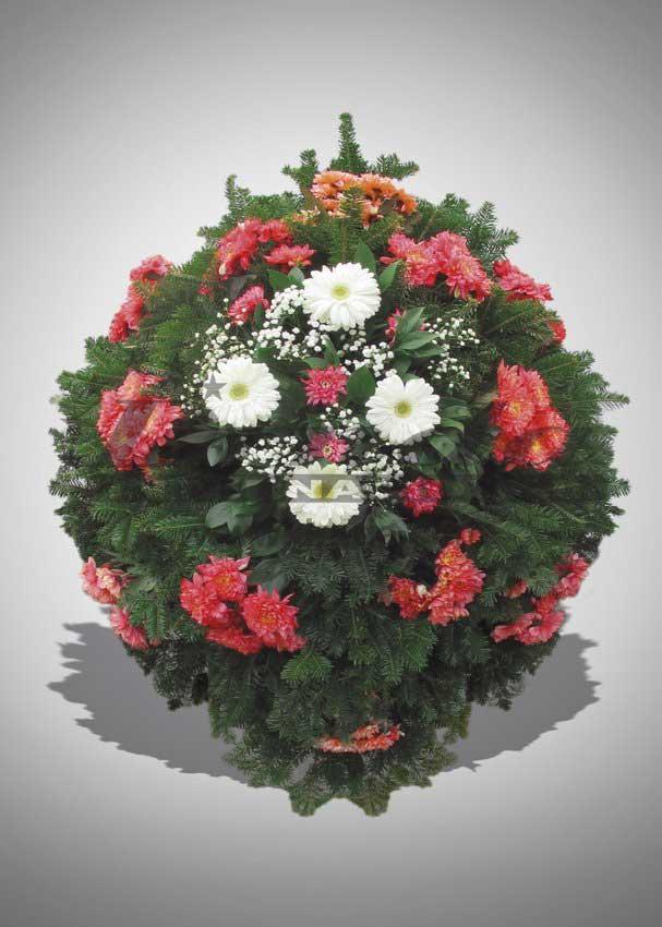 Pogrebna oprema Drnda - venac br. 18