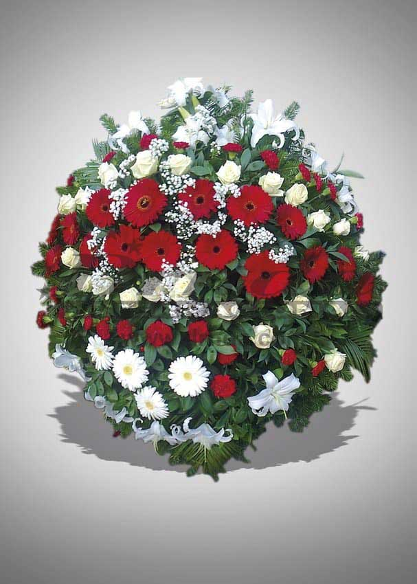 Pogrebna oprema Drnda - venac br. 2