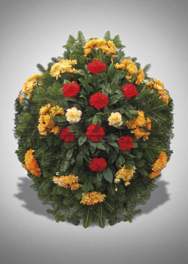 Pogrebna oprema Drnda - venac br. 21