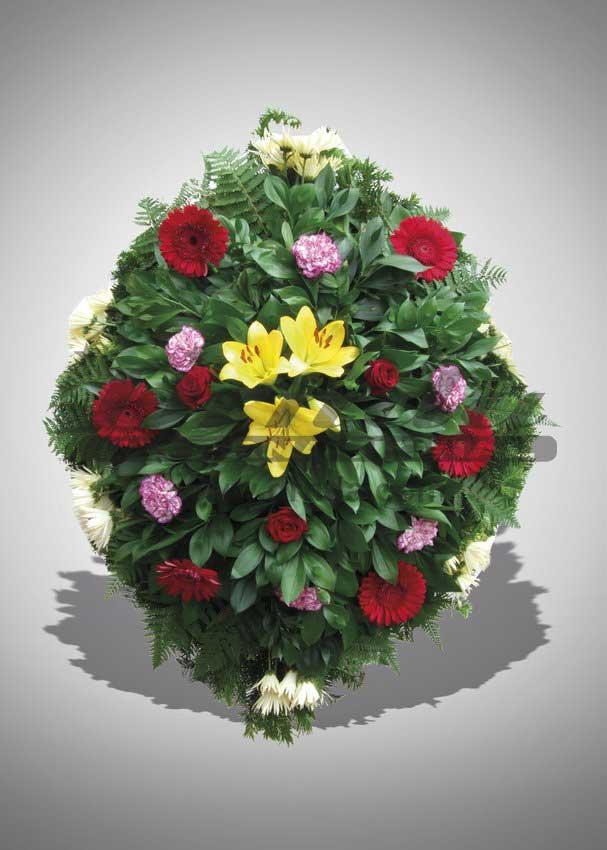 Pogrebna oprema Drnda - venac br. 23
