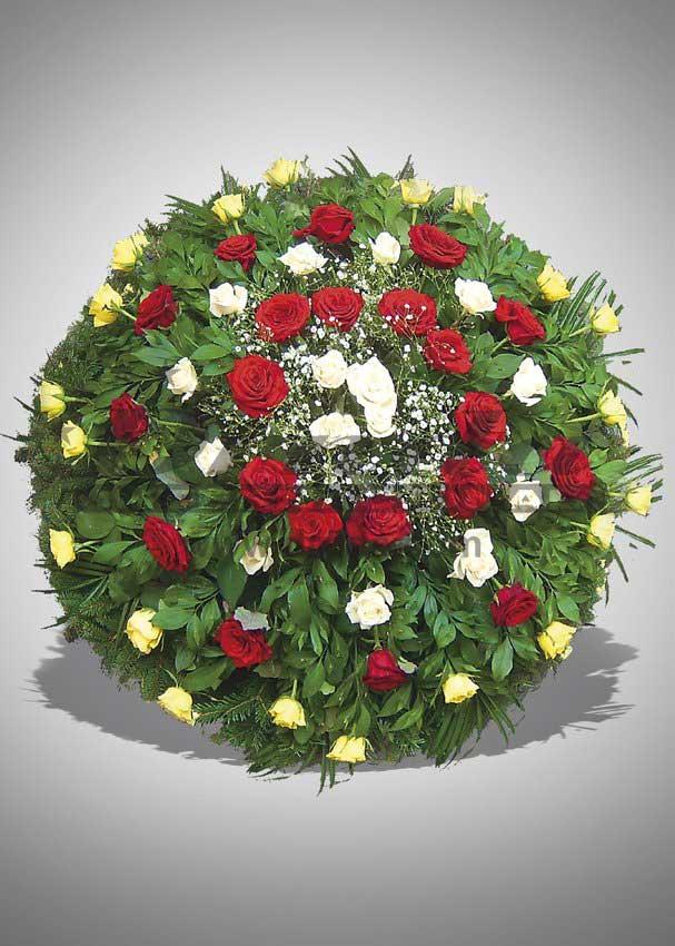 Pogrebna oprema Drnda - venac br. 31