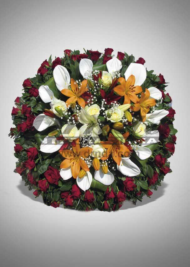 Pogrebna oprema Drnda - venac br. 26