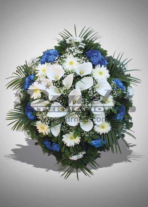 Pogrebna oprema Drnda - venac br. 8