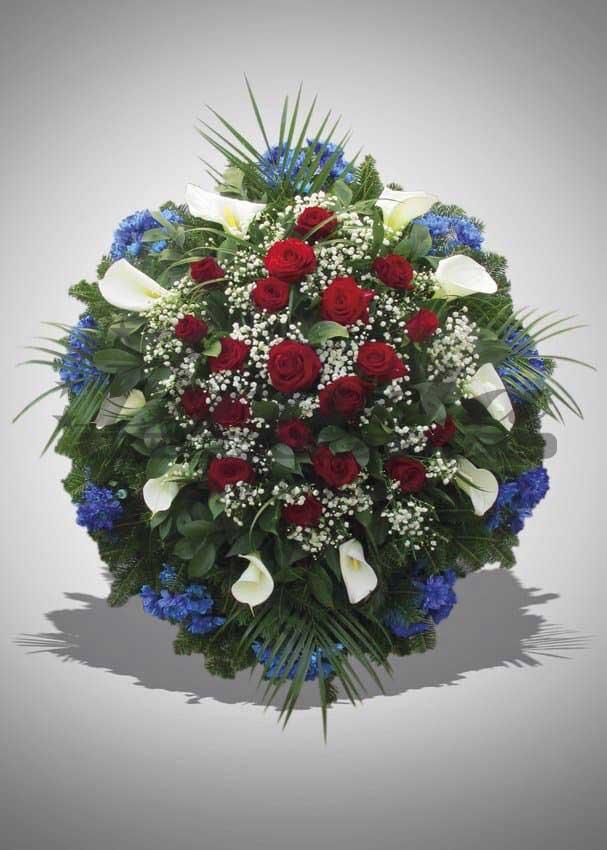 Pogrebna oprema Drnda - venac br. 9